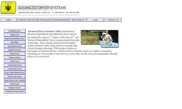 Advanced Dryer Systems, Inc.
