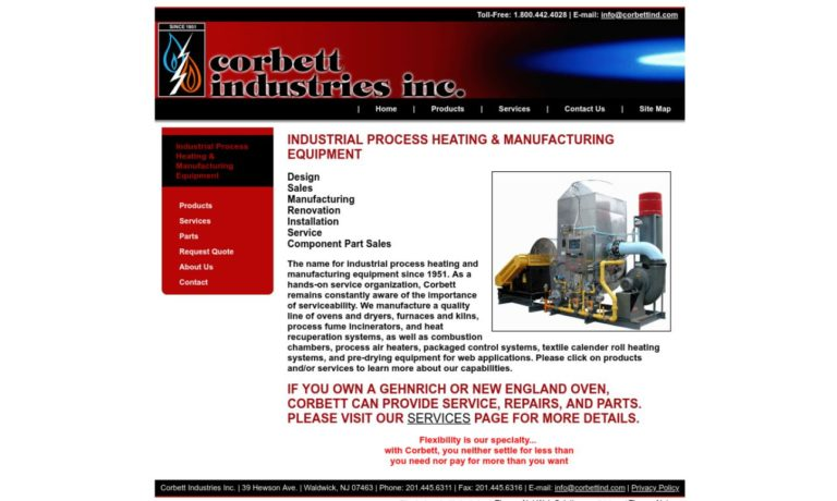 Corbett Industries Inc.
