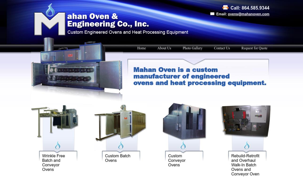 Mahan Oven & Engineering, Inc.