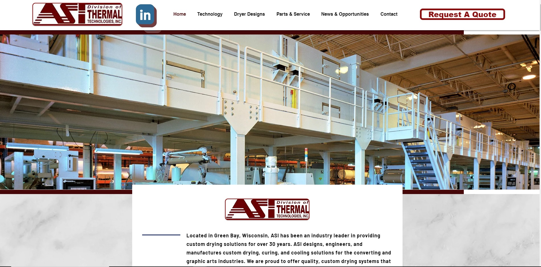 ASI, Division of Thermal Technologies